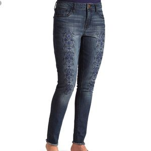 Wrangler Aztec Embroidered Jeans